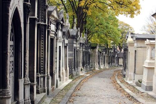 Cementerio Pere Lachaise en París