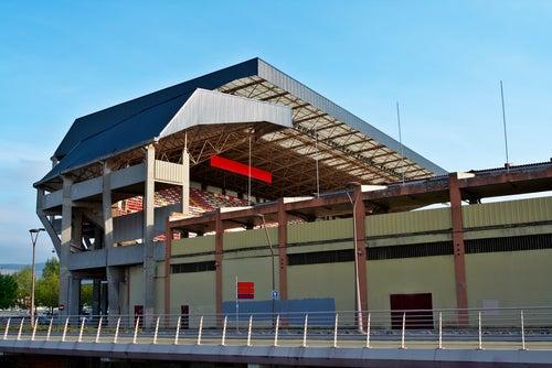 Estadio del Molinón en gijón