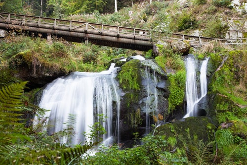 Cascadas deTriberg en la Selva Negra