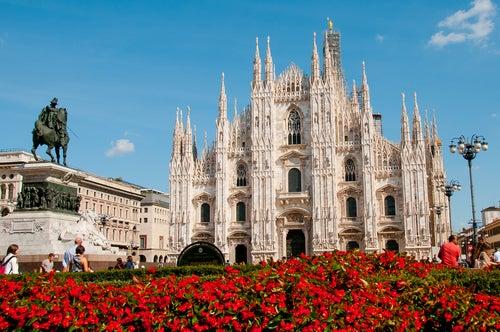 Catedral de Milán en Italia