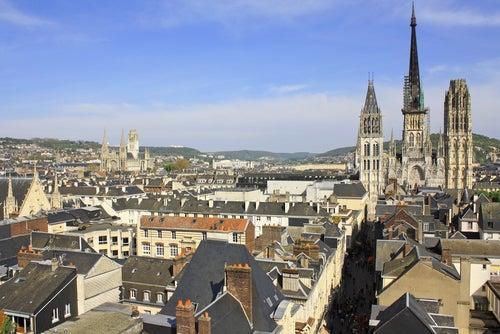 Vista de Rouen
