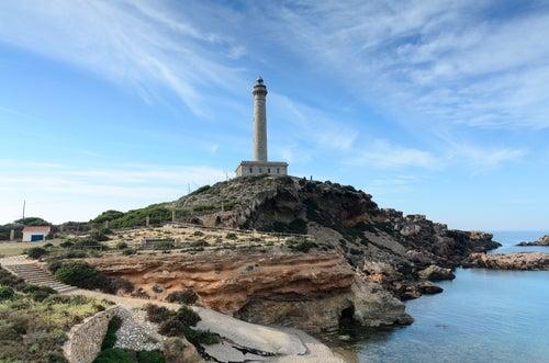 Cabo de Palos cerca de Cartagena