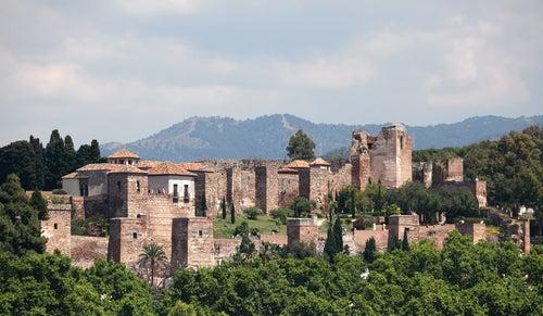 Vista de la Alcazaba de Málaga