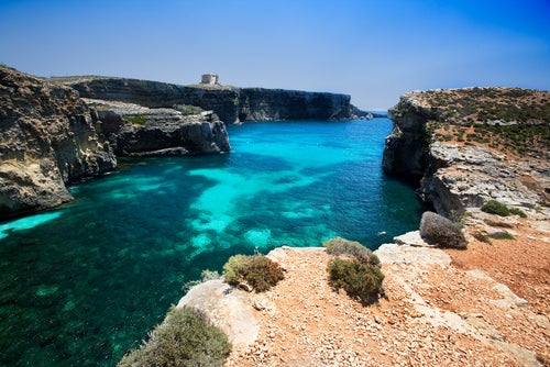 Isla Comino en Malta