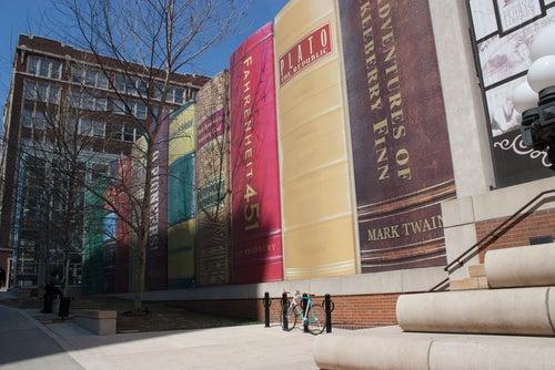 Aparcamiento literario en Kansas City