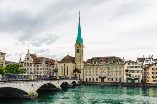 Abadía de Fraumunster en Zurich