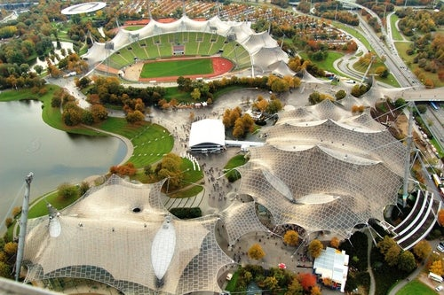 Parque olímpico deMunich