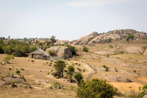Paisaje en Suazilandia
