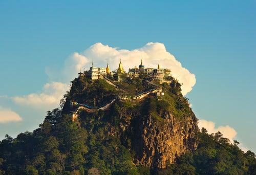 Vista del Monte Popa