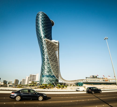 Capital Gate en Emiratos Arabes
