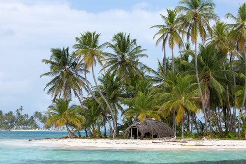 Playa en Islas San Blas