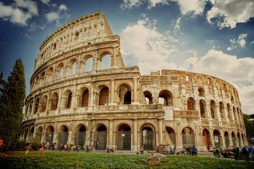 El Coliseo de Roma, simplemente magnífico