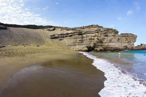 Papakolea, la playa verde