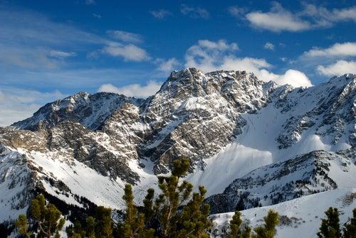 Los Alpes en Liechtenstein