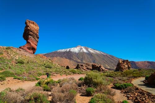Vista del Teide en Tenerife