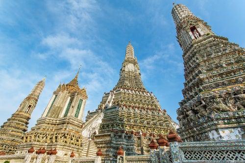 Templo Wat Arun en Tailandia