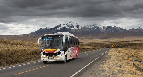 Autobús en Perú