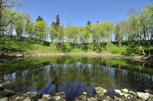 Crater de Kaali en Saaremaa