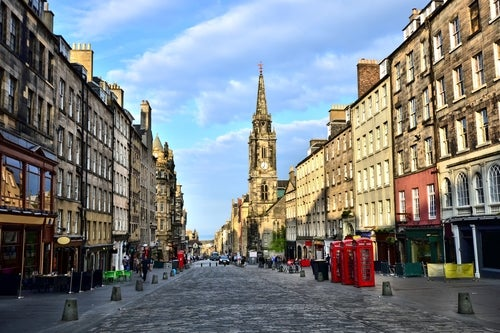 Royal Mile en Edimburgo