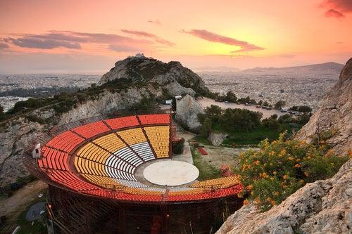 Teatro Lycabettus en Atenas