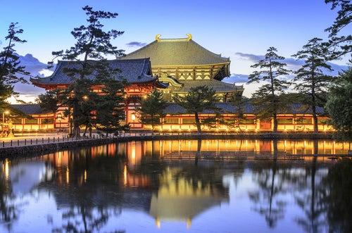 Templo de Todaiji en Japón