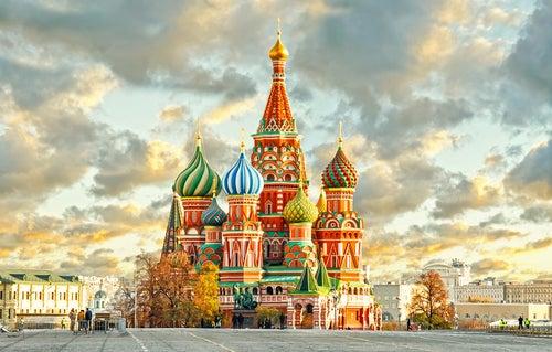La Catedral de San Basilio en Moscú, un edificio sorprendente