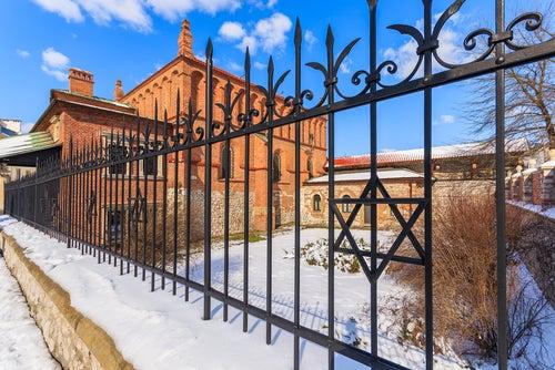 Sinagoga en el barrio de Krazimierz de Cracovia