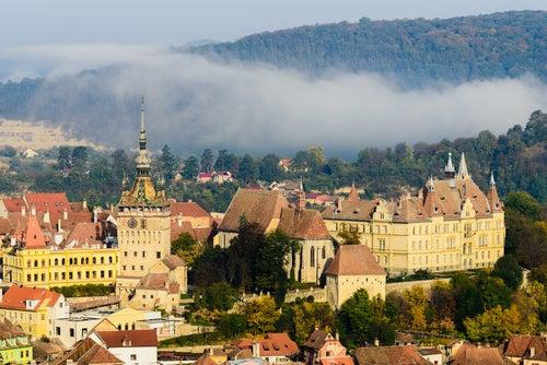 Sighisoara, una joya medieval en Rumanía