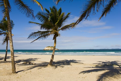 Playa en Isla MArgarita