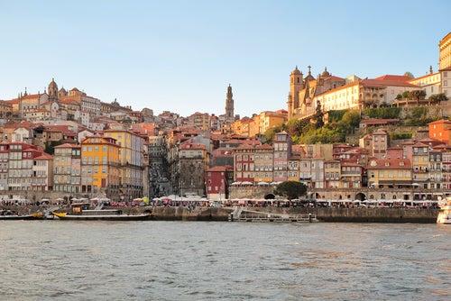 La Ribeira en Oporto