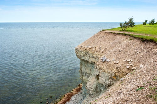 Acantilado de Panga en Saaremaa