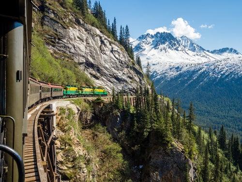 Mi viaje en el tren de Alaska