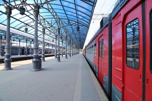 Estación de tren de Moscú