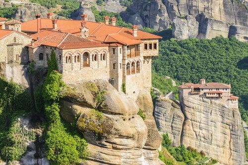 Monasterio en Meteora