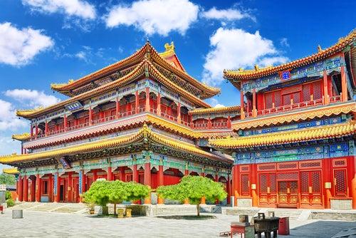 Templo de Yonghe en China