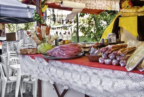Festival gastronómico en Alemania