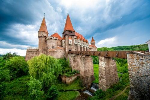 Castillo de Corbin en Transilvania