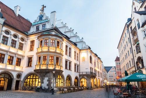 Hofbrauhaus en Munich