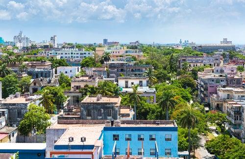 Barrido de Vedado en La Habana