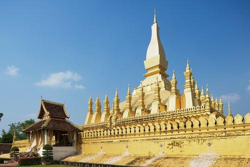 Templo de Pha That Luang en Vietnam