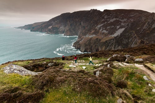 Acantilados en Donegal