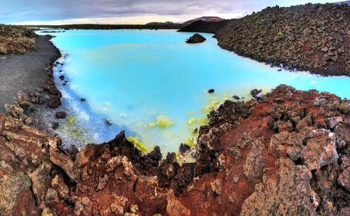 Aguas de Blue Lagoon