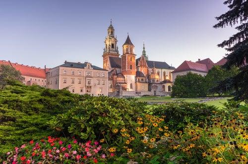 Colina Wawel de Cracovia