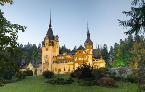 Castillo de Peles en Transilvania