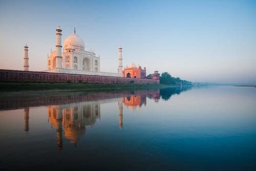 Taj majal en India