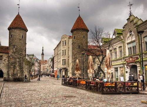 Calles medievales de Tallín
