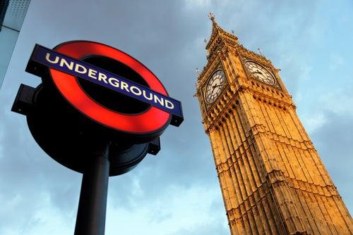 Cartel de Metro de Londres