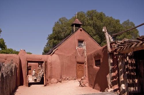 Antiguo rancho en México