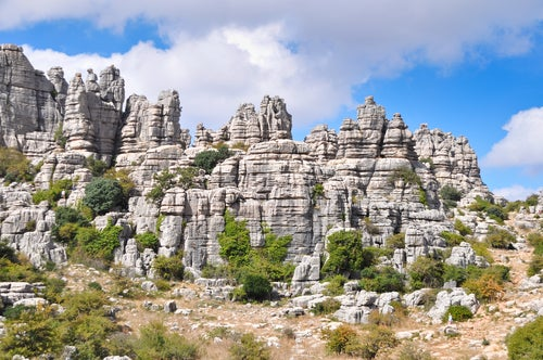 Rocas en el Torcal de Antequera