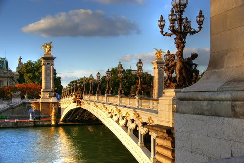 Puente de Alejandro III de París